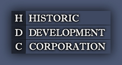 historic development corporation logo
